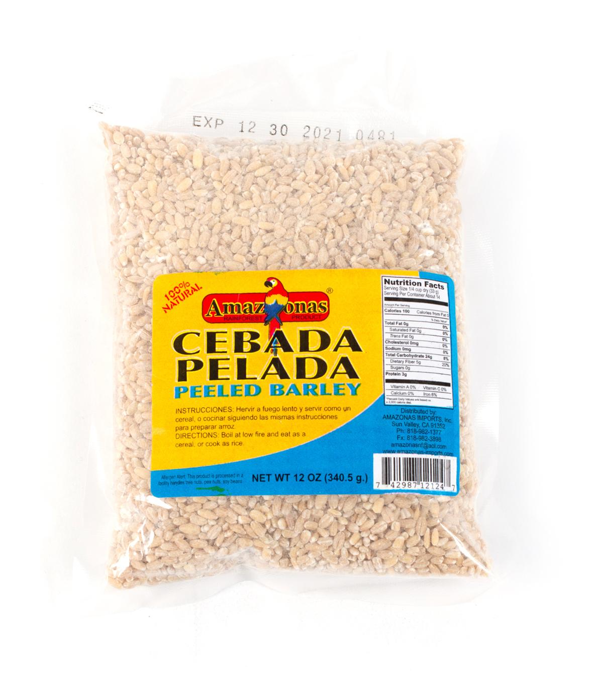 CEBADA PELADA